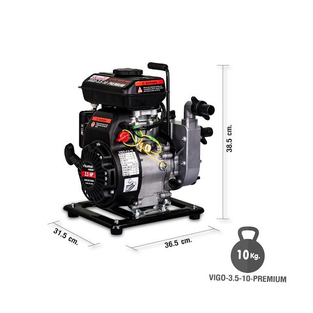 ขาย เครื่องยนต์สูบน้ำ 3.5 แรงม้า ท่อ1x1นิ้ว (เบนซิน)